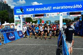 22. K&H mozdulj! maraton- és félmaratonváltó